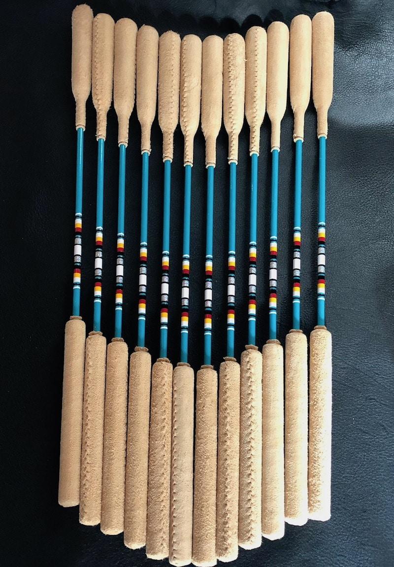22 powwow drum stick 6 pack tribal spirit music. Black Bedroom Furniture Sets. Home Design Ideas
