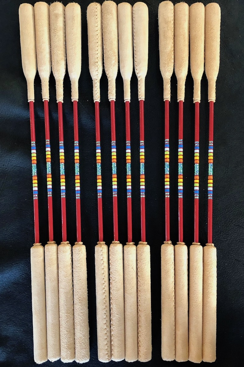 22 powwow drum stick 6 pack tribal spirit music. Black Bedroom Furniture Sets. Home Design Ideas