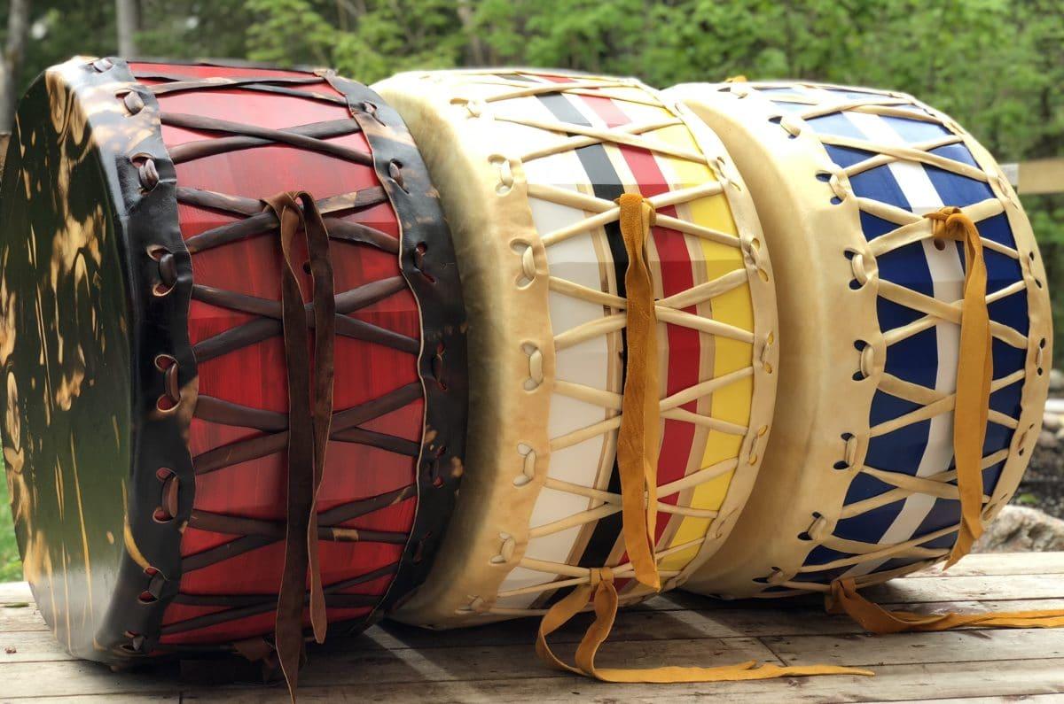 Powow Drums